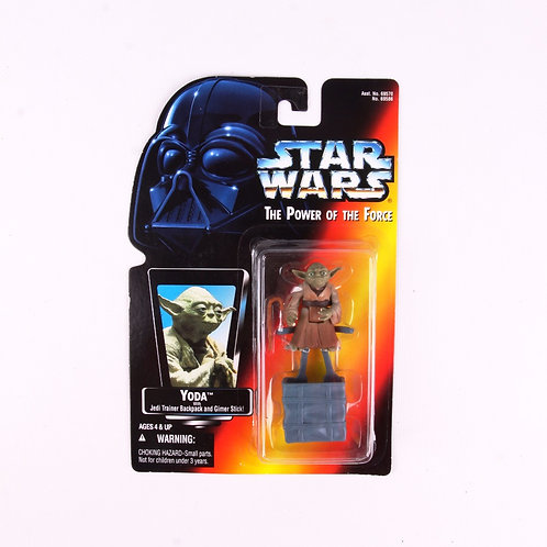 Yoda - Classic 1995 Star Wars Power of the Force - Action Figure