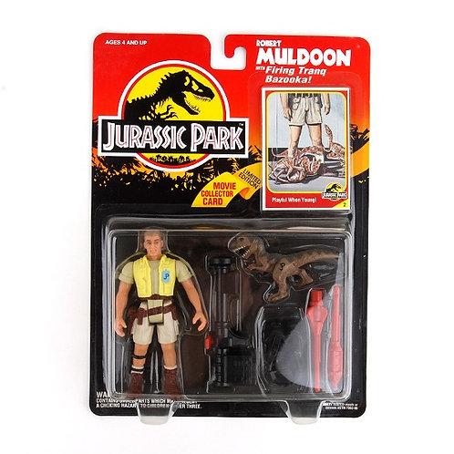 Robert Muldoon - Classic 1993 Jurassic Park Action Figure W1 - Kenner