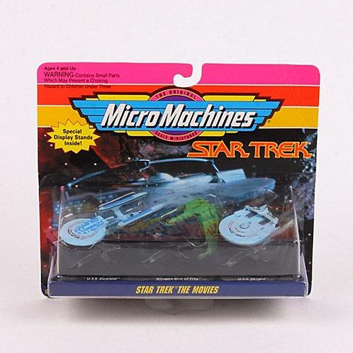 Star Trek The Movies - Classic 1993 Micro Machines Vehicles - Galoob