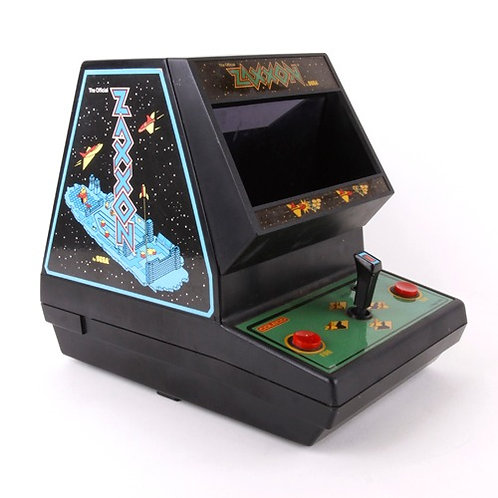 Zaxxon - Vintage 1983 Electronic Tabletop Arcade Game - Coleco / Sega