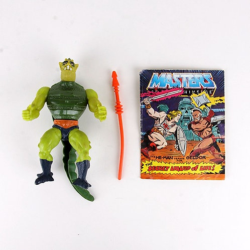 Whiplash - Vintage 1984 Masters of the Universe - Action Figure - Mattel