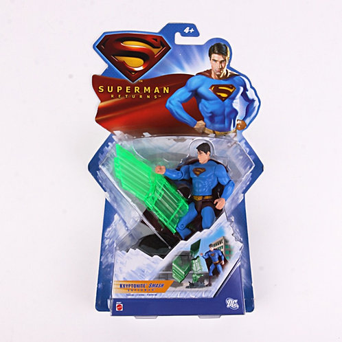 Superman Kryptonite - Modern 2006 Superman Returns - Action Figure - Mattel / DC