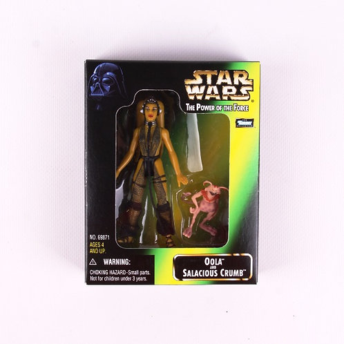 Oola & Salacious Crumb - Classic 1998 Star Wars Power of the Force Action Figure