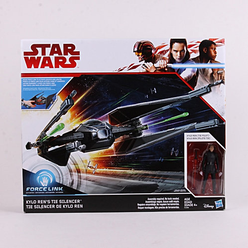 Kylo Ren's Tie Silencer - Modern 2017 Star Wars Force Link - Hasbro