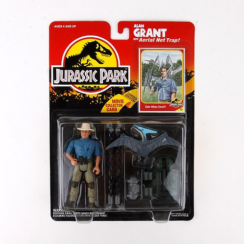 Alan Grant - Classic 1993 Jurassic Park Action Figure W1 - Kenner