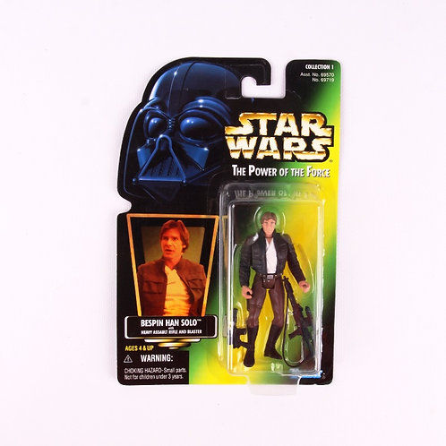 Han Solo - Classic 1997 Star Wars Power of the Force - Action Figure