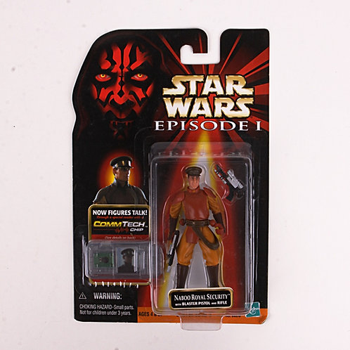 Naboo Royal Security - Classic 1999 Star Wars The Phantom Menace - Action Figure