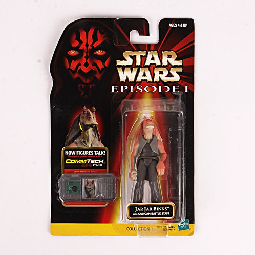 Jar Jar Binks - Classic 1998 Star Wars The Phantom Menace - Action Figure
