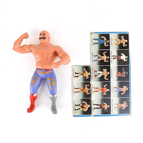 Iron Sheik - Vintage 1985 WWF Wrestling Superstars Action Figure - Ljn Toys