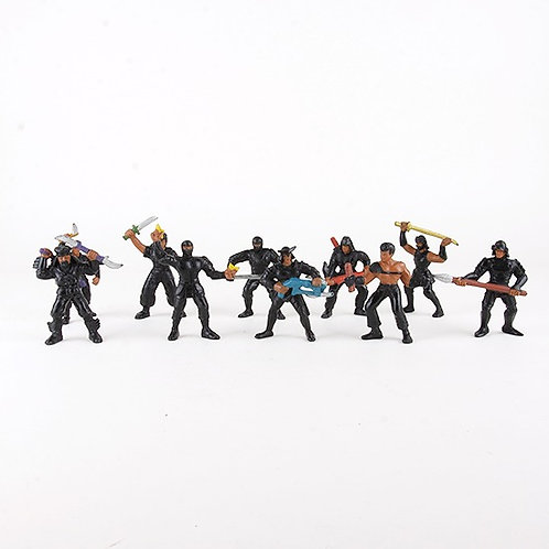 Aikido Force - Vintage 1986 GUTS Figures - Mattel