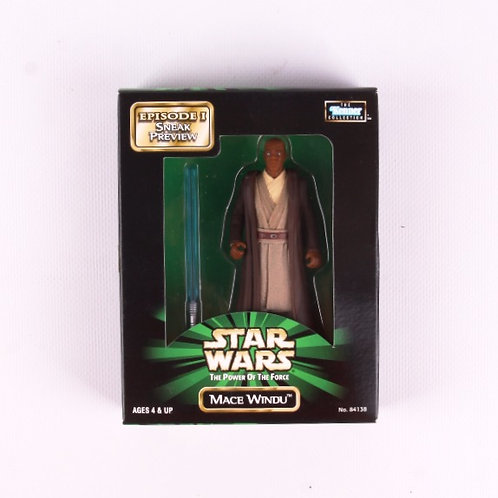 Mace Windu - Classic 1998 Star Wars Power of the Force - Action Figure