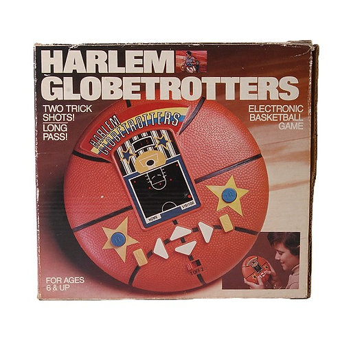 Harlem Globetrotters - Vintage 1979 Electronic Handheld Sports Game - Regency