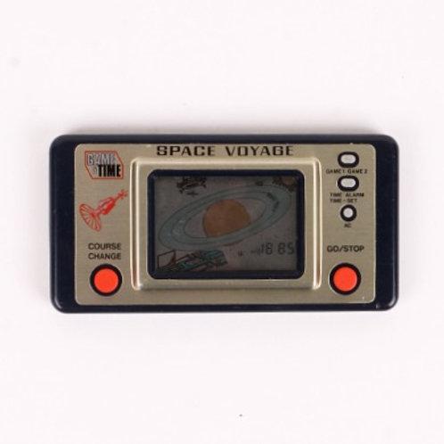 Space Voyage - Vintage 1983 Electronic Game & Time - Matsushima