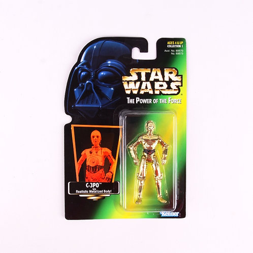 C-3PO - Classic 1997 Star Wars Power of the Force - Action Figure