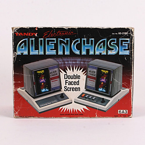 Alien Chase - Vintage 1984 Electronic Tabletop Arcade Game - Tandy
