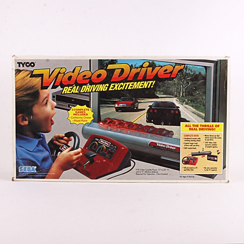 Video Driver - Vintage 1988 VHS Driving Game - Tyco / Sega