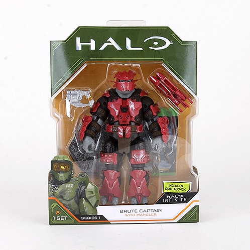 Brute Captain - Modern 2020 Halo Action Figure - Wicked Cool Toys