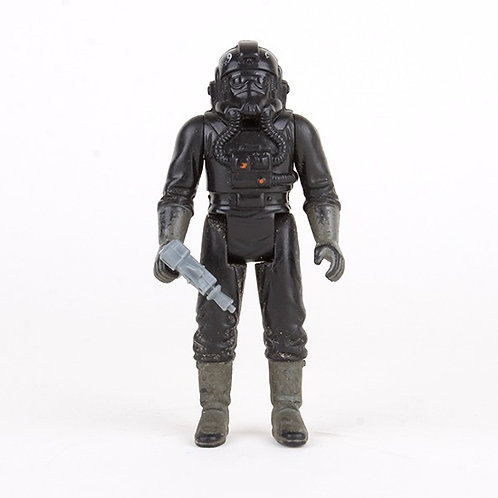 Tie Fighter Pilot -  1982 Star Wars Action Figure - Kenner