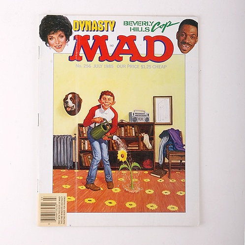 Mad Magazine - Vintage July 1985 # 256 - Dynasty - Beverly Hills Cop
