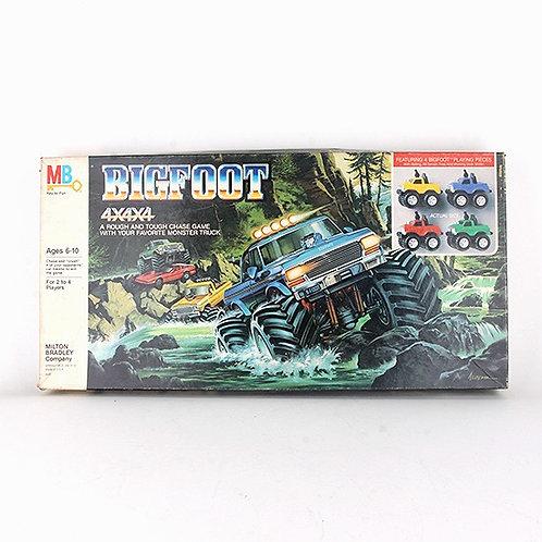 Bigfoot 4x4x4 - Vintage 1984 Board Game - Milton Bradley
