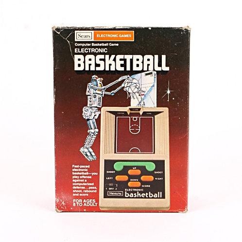 Basketball - Vintage 1979 Handheld Electronic Sports Game - Sears