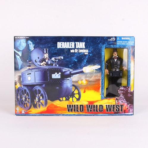 Derailer Tank & Dr Loveless - Classic 1999 - Wild Wild West - Action Figure
