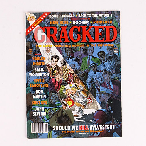 Cracked Magazine - Classic July 1990 # 254 - Back to the Future 2