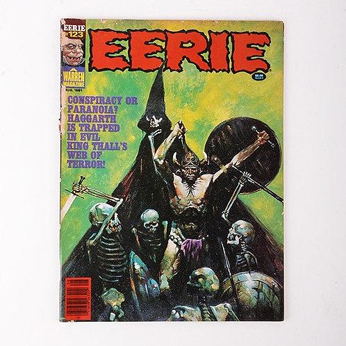 Eerie Magazine - Vintage Aug 1981 #123