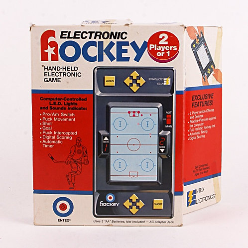 Hockey - Vintage 1979 Handheld Electronic Sports Game - Entex