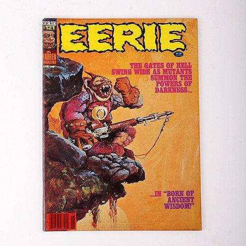 Eerie Magazine - Vintage June 1981 #121 - Born of Ancient Wisdom