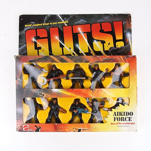 Aikido Force - Vintage 1986 GUTS Figures - Mattel