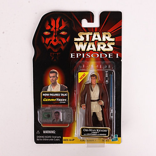 Obi-Wan Kenobi - Classic 1999 Star Wars The Phantom Menace - Action Figure