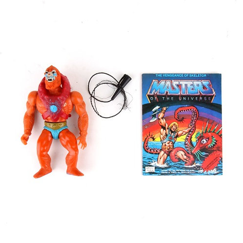 Beast Man - Vintage 1982 Masters of the Universe - Action Figure - Mattel