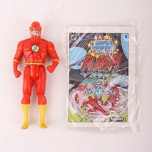 Flash - Vintage 1984 Super Powers DC Comics - Action Figure - Kenner