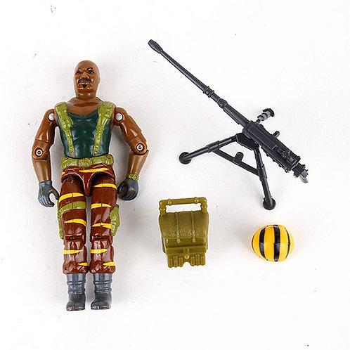 Roadblock - Vintage 1988 G.I. Joe Tiger Force Action Figure - Hasbro