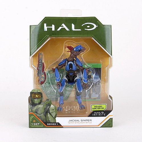 Jackal Sniper - Modern 2020 Halo Action Figure - Wicked Cool Toys