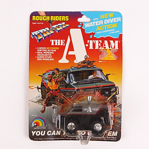 Enforcer Van - Vintage 1983 The A-Team Rough Riders Tri-Ex - Ljn Toys