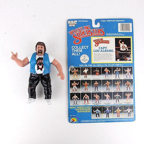 Capt. Lou Albano - Vintage 1985 WWF Wrestling Superstars Action Figure  Ljn Toys