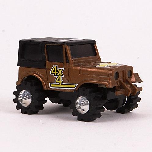 Golden Eagle Jeep - Vintage 1981 Rough Riders 4x4 - Ljn Toys