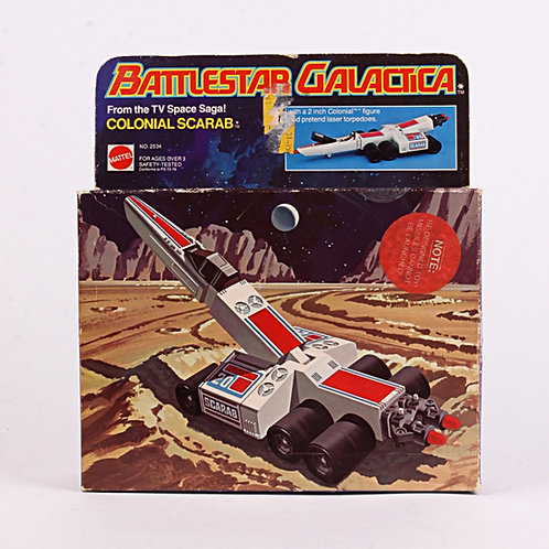 Colonial Scarab - Vintage 1978 Battlestar Galactica Vehicle - Mattel