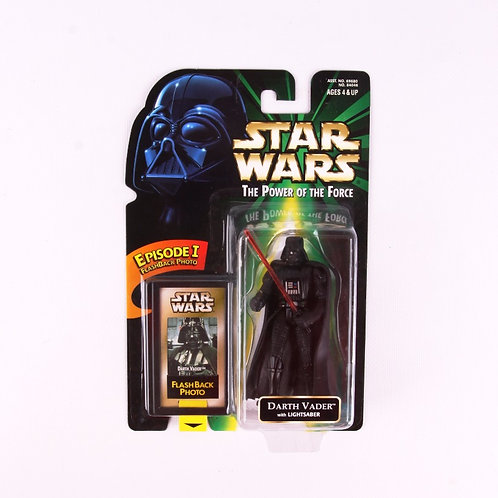 Darth Vader - Classic 1998 Star Wars Power of the Force - Action Figure