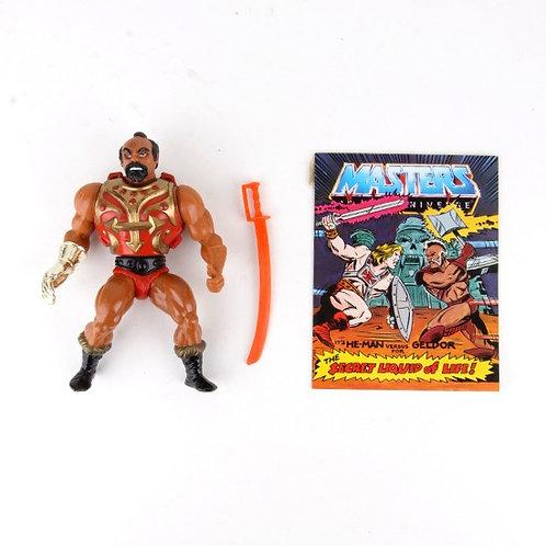 Jitsu - Vintage 1984 Masters of the Universe - Action Figure - Mattel
