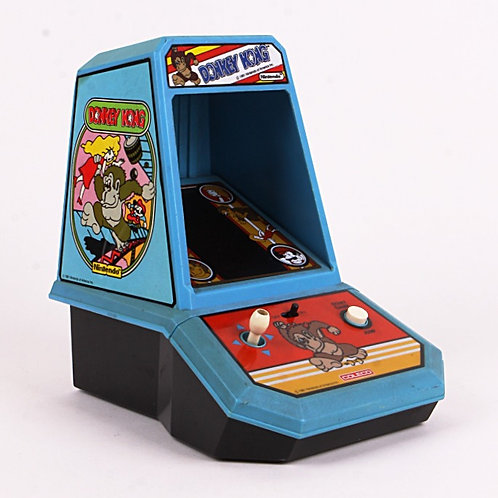 Donkey Kong - Vintage 1982 Electronic Tabletop Arcade Game - Coleco