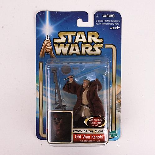 Obi-Wan Kenobi - Modern 2002 Star Wars Attack of the Clones - Action Figure