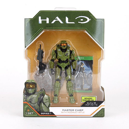 Master Chief - Modern 2020 Halo Action Figure - Wicked Cool Toys