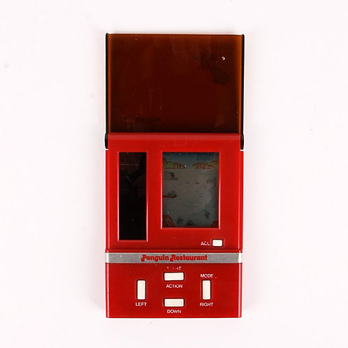 Penguin Restaurant - Vintage 1983 Solar Power Electronic Game - Epoch
