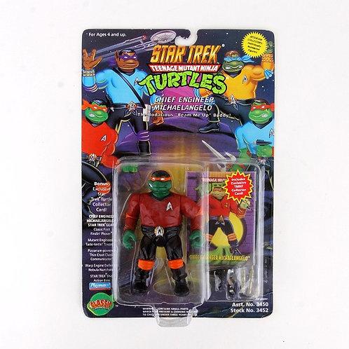 Chief Engineer Michaelangelo - 1994 Teenage Mutant Ninja Turtles Action Figure