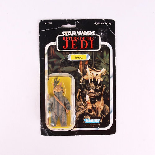 Teebo - Vintage 1983 Star Wars Return of the Jedi - Action Figure