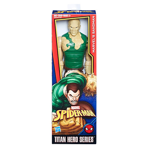 "Sandman - Modern 2016 Marvel Titan Hero Series - 12"" Action Figure - Hasbro"