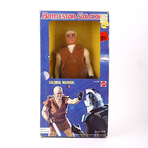Colonial Warrior - Vintage 1978 - Battlestar Galactica Action Figure - Mattel